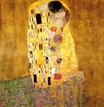 the-kiss-Gustav Klimt